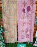 Tenun ATBM Pewarna Secang (Pink) & Pewarna Teger (Kuning) - Batik EcoPrint